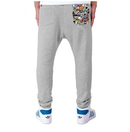 Printed Pocket 'mindfuck' Men's Sweatpants
