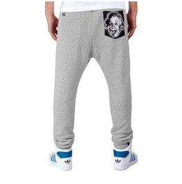 Printed Pocket 'einstein' Men's Sweatpants