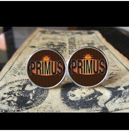 Primus Brown Album Logo Cuff Links Men, Weddings,Grooms,Groomsmen,Gifts