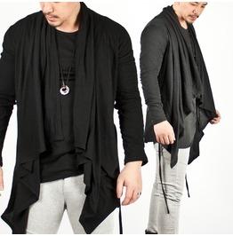 Special Price Avant Garde Shawl Collar Cardigan 08