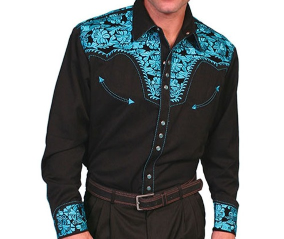 scully_western_turquoise_floral_embroidery_on_black_cowboy_pearl_snap_shirt_shirts_3.jpg