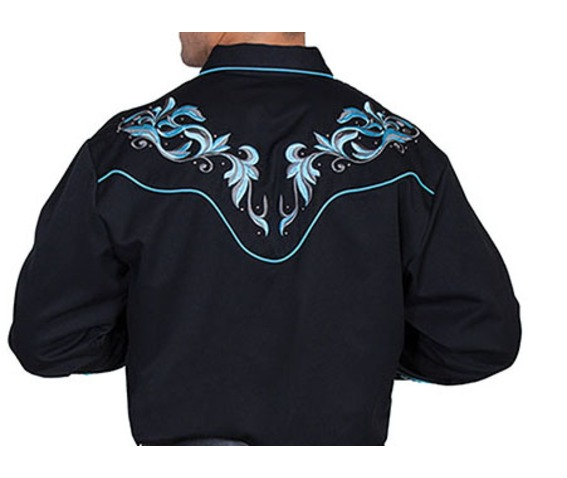 scully_western_teal_floral_embroidery_on_black_cowboy_pearl_snap_shirt_shirts_4.jpg