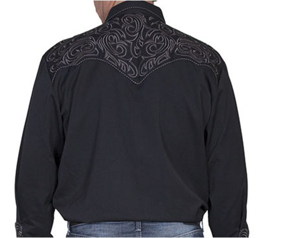 scully_western_grey_sharp_embroidery_on_black_cowboy_pearl_snap_shirt_shirts_4.jpg