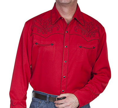 scully_western_black_bootstitch_embroidery_on_red_cowboy_pearl_snap_shirt_shirts_4.jpg