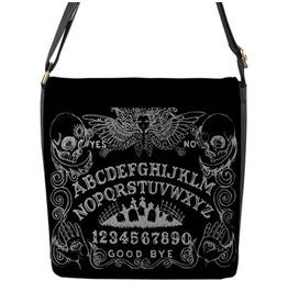 Ouija Board Messenger Flap Bag 7.5x7.5x2.5