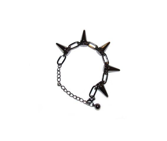 gunmetal_chainlink_spike_bracelet_bracelets_3.jpg