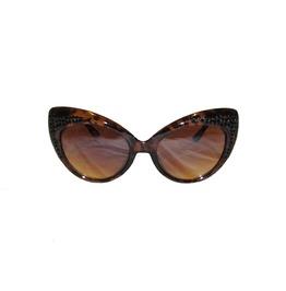 "Half ""Classic Cat"" Swarovski® Sunnies Tortoise"