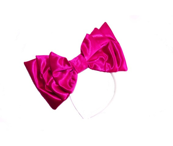 hot_pink_satin_bow_hair_accessories_2.jpg