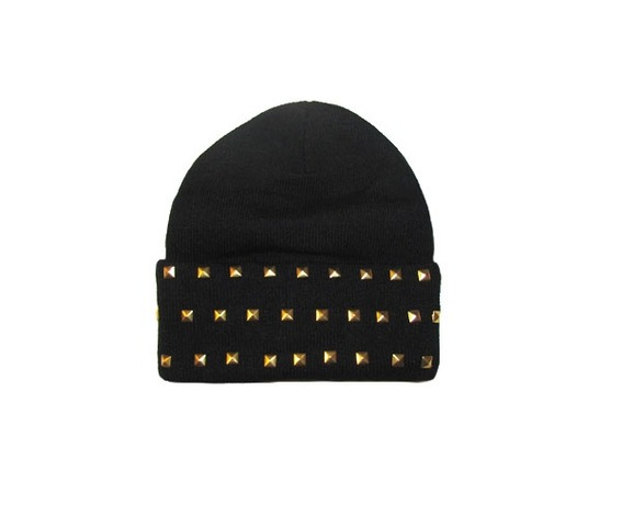 black_beanie_studs_hats_and_caps_3.jpg