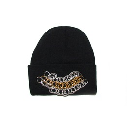 Black Beanie Chains