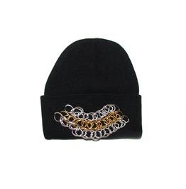 Black Beanie Chains