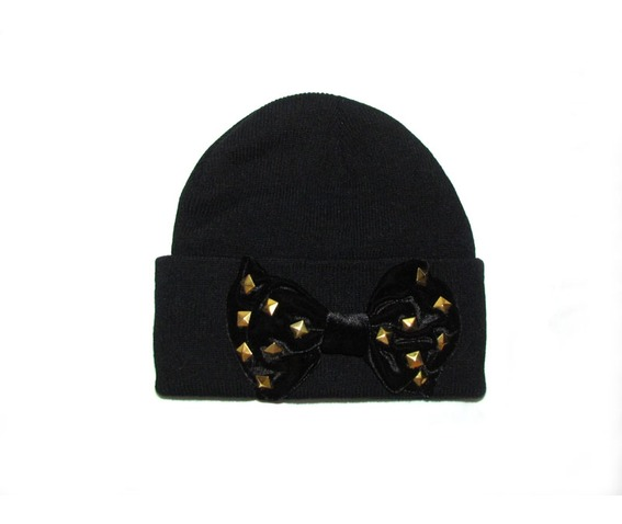 black_bow_beanie_studs_hats_and_caps_3.jpg