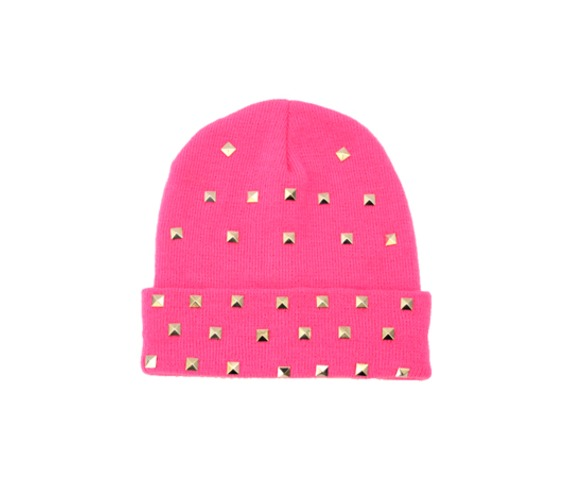 hot_pink_beanie_studs_hats_and_caps_3.jpg