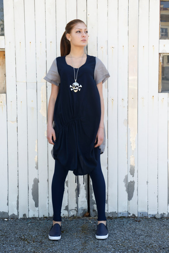 navy_blue_grey_shirt_summer_shirt_short_sleeve_top_womens_tunic_tanks_tops_and_camis_5.jpg