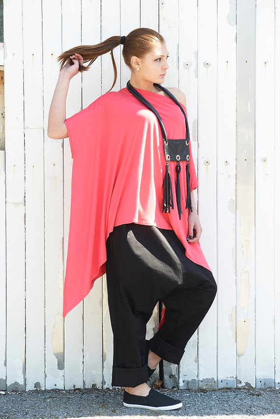 long_red_top_asymmetric_tunic_top_watermelon_summer_tunic_loose_top_tanks_tops_and_camis_5.jpg