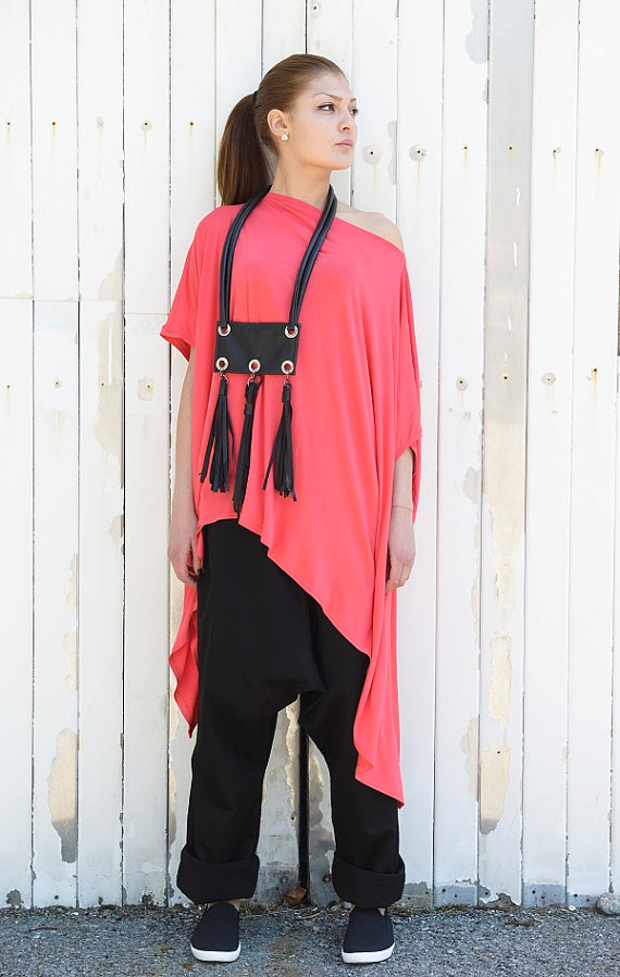 long_red_top_asymmetric_tunic_top_watermelon_summer_tunic_loose_top_tanks_tops_and_camis_4.jpg