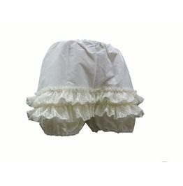 Steampunk Bloomers Short Ladies Knickers White 1815 Size 2 X