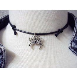 Little Spider Choker Necklace