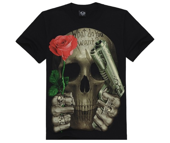 mens_regular_plus_size_skull_rose_gun_print_short_sleeve_t_shirts_t_shirts_2.jpg