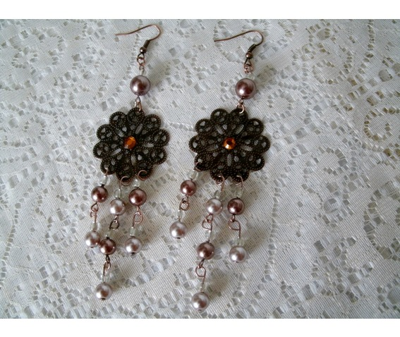 triple_drop_copper_earrings_retro_fashion_rockabilly_steampunk_pin_earrings_4.JPG