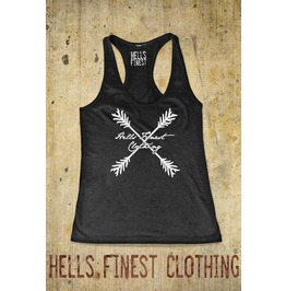 Racerback Tank Top Hells Finest Clothing Fashion Workout Exercise Tank