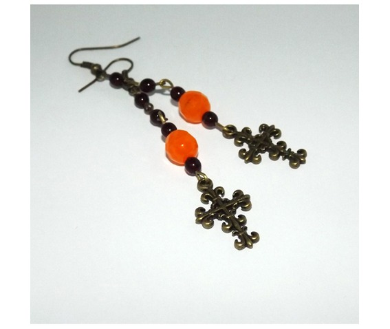 rosary_type_earrings_brass_cross_contrastic_bright_orange_beads_earrings_3.jpg