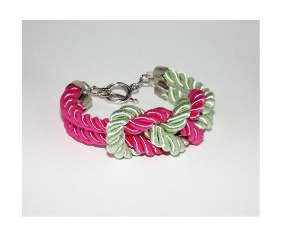 deep_pink_mint_knot_rope_bracelet_silver_clasp_bracelets_4.jpg
