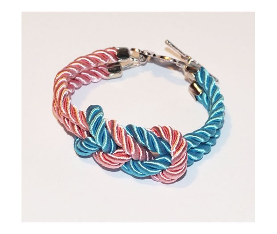 turquoise_pink_knot_rope_bracelet_silver_flower_clasp_bracelets_4.jpg