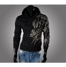 Mens Tattoo Printed Hoodies