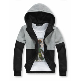 Mens Casual Zip Up Hoodies