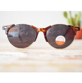 Vintage Tortoise Shell Sunglasses 1980's Old Stock