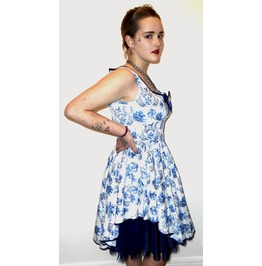 Hell Bunny Cameo Dress Netted
