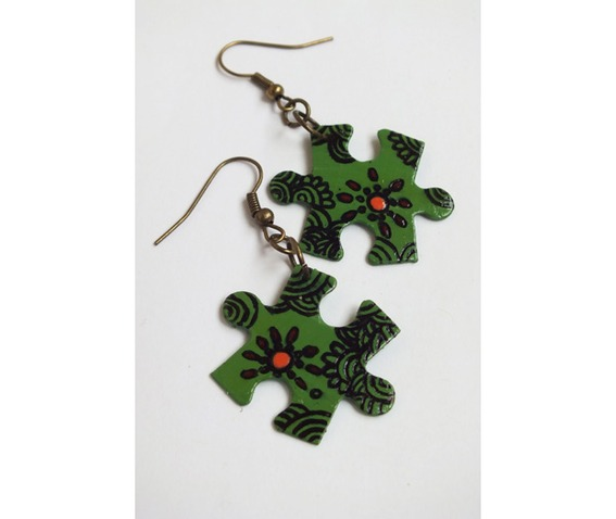 handpainted_puzzle_piece_earrings_green_floral_pattern_cycled__earrings_3.jpg