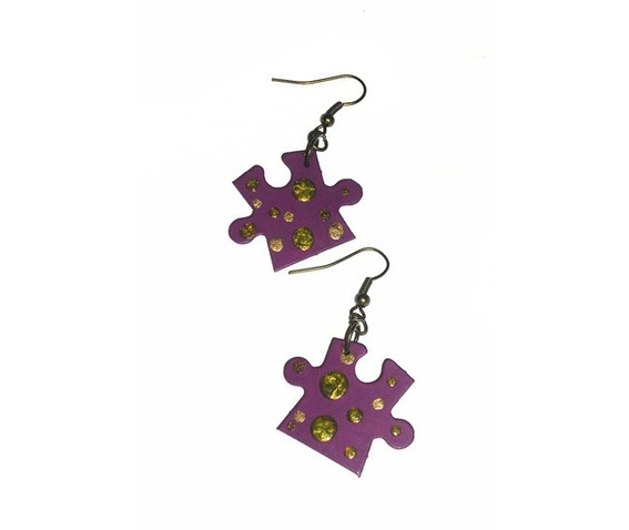 handpainted_puzzle_piece_earrings_plum_purple_dots_upcycled__earrings_3.jpg