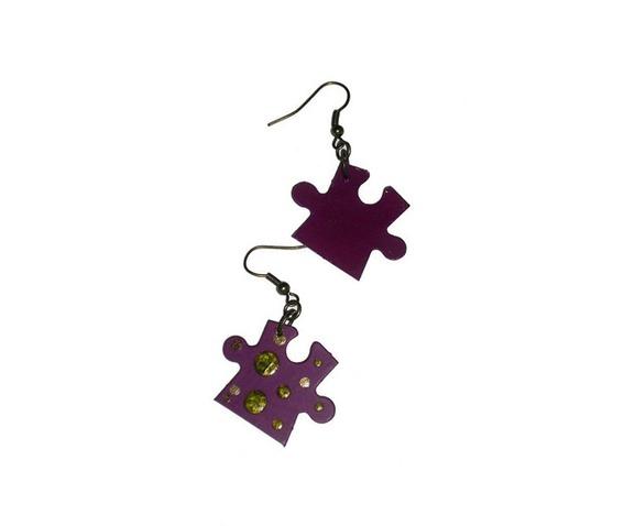 handpainted_puzzle_piece_earrings_plum_purple_dots_upcycled__earrings_3.jpg