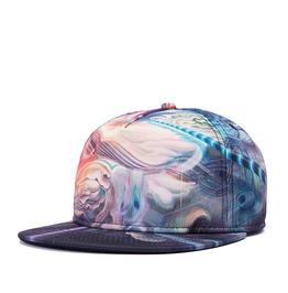 Fluorescent Outer Space Women Baseball Cap Men Hip Hop Hat 213
