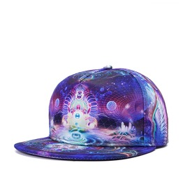 Fluorescent Outer Space Baseball Cap Men Hip Hop Hat Summer Cap 217