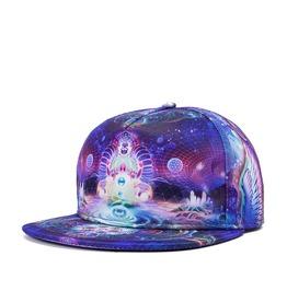 Fluorescent Outer Space Baseball Cap Men Hip Hop Hat Summer Cap 217