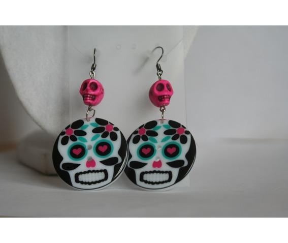 cycled_sugar_skull_button_dangle_earrings_earrings_2.JPG
