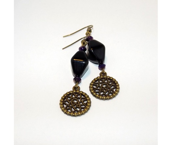 brass_dreamcatcher_earrings_black_glass_beads_earrings_3.jpg