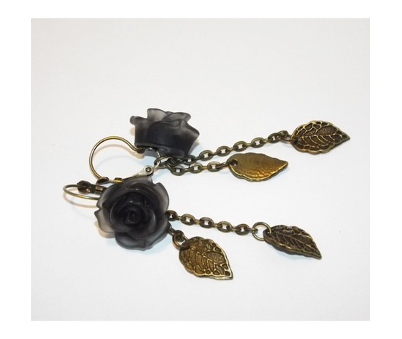 handmade_gothic_earrings_black_roses_brass_leaves_earrings_4.jpg