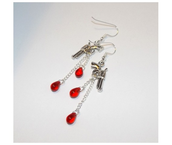 handmade_earrings_gun_pendants_blood_drop_glass_beads_earrings_4.jpg
