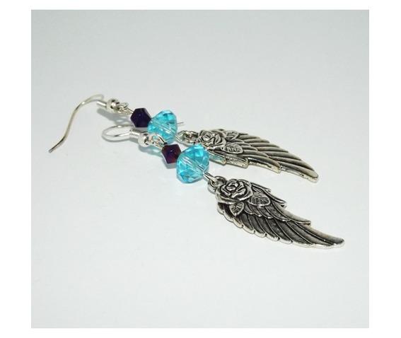 handmade_wings_roses_earrings_bright_blue_glass_beads_earrings_3.jpg