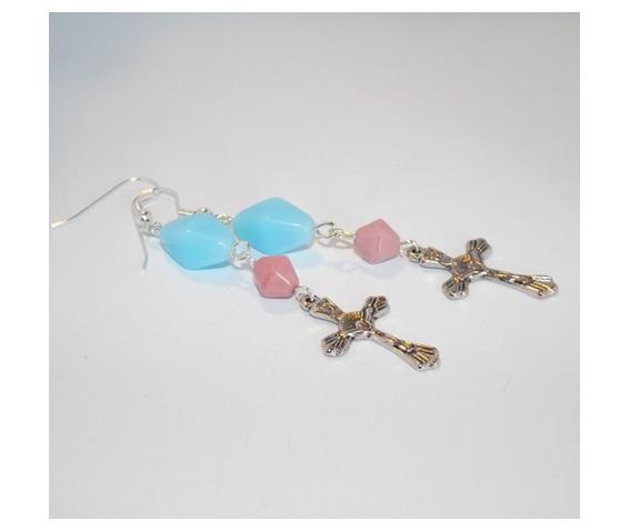 handmade_christian_cross_earrings_pink_turquoise_beads_earrings_3.jpg