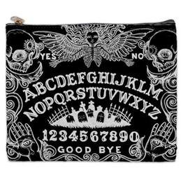 Ouija B&W Cosmetic Bag