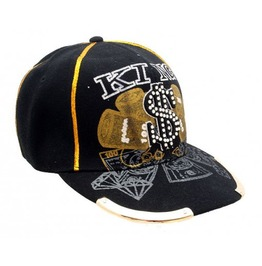 Customised Embroydered Cotton Print Baseball Cap