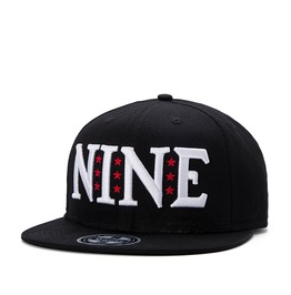 Fashion Black Nine Men Baseball Cap Men Hip Hop Cap 244