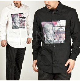 Double Layered Bottom Hem Shirts 89