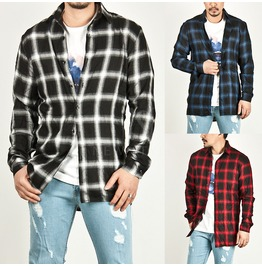 Classic Checkered Basic Shirts 88