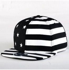 Reggae black hip hop cap stars stripes street dance men baseball cap 010 hats and caps